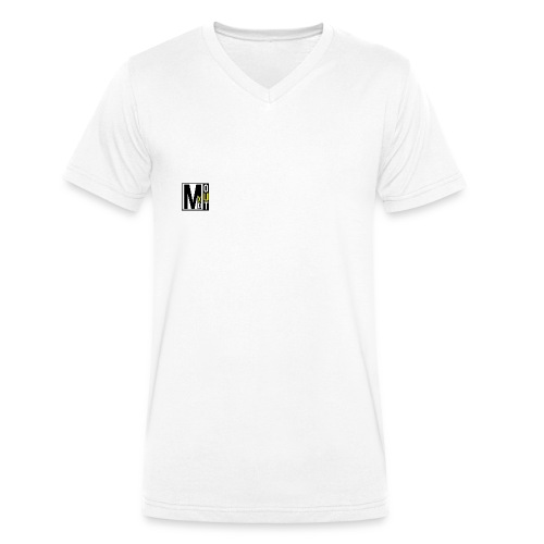MXDOUT Square Logo - Men's Organic V-Neck T-Shirt by Stanley & Stella