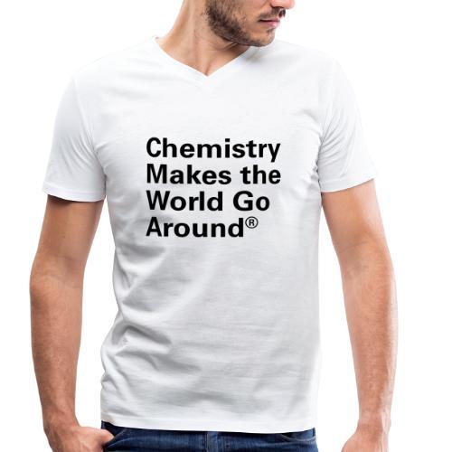 Chemistry makes the World go Around T-Shirt - Männer Bio-T-Shirt mit V-Ausschnitt von Stanley & Stella