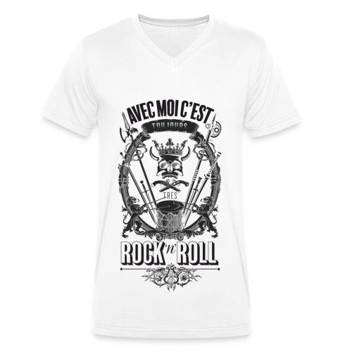 Rock'n'roll - T-shirt bio col V Stanley & Stella Homme