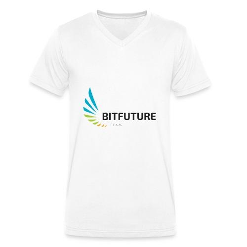 Team BitFuture - Männer Bio-T-Shirt mit V-Ausschnitt von Stanley & Stella