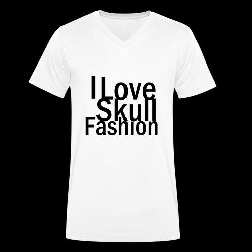 loveskull - Männer Bio-T-Shirt mit V-Ausschnitt von Stanley & Stella