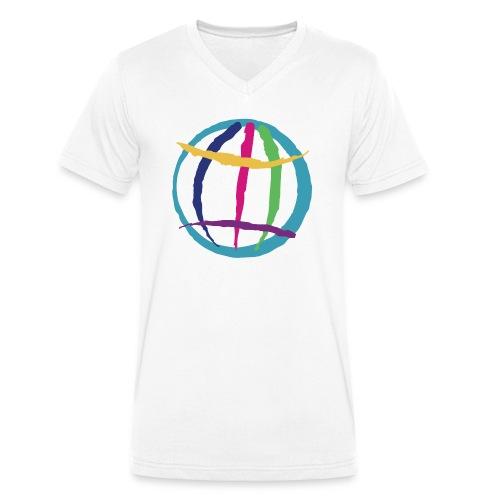 VFSDI Apparel I - Männer Bio-T-Shirt mit V-Ausschnitt von Stanley & Stella