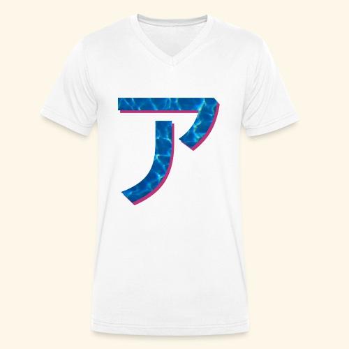 ア logo - T-shirt bio col V Stanley & Stella Homme