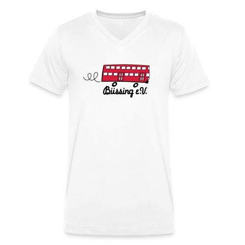 Büssing eV - Männer Bio-T-Shirt mit V-Ausschnitt von Stanley & Stella