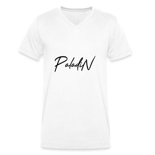 MErch weuss - Männer Bio-T-Shirt mit V-Ausschnitt von Stanley & Stella
