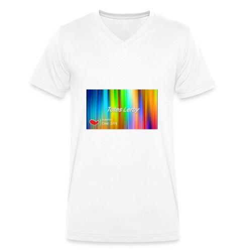 Totes Lerby desing - Männer Bio-T-Shirt mit V-Ausschnitt von Stanley & Stella
