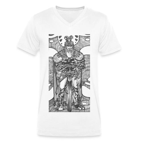 Hero - Männer Bio-T-Shirt mit V-Ausschnitt von Stanley & Stella