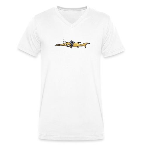 Tauchmedizin - Männer Bio-T-Shirt mit V-Ausschnitt von Stanley & Stella