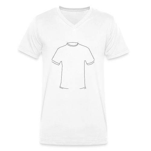 T-Shirt in T-Shirt - Männer Bio-T-Shirt mit V-Ausschnitt von Stanley & Stella