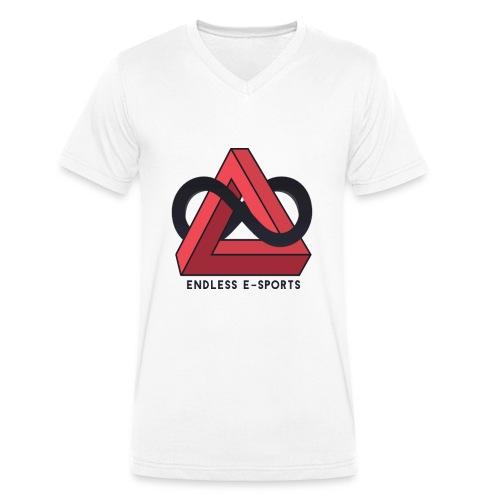 Endless-Eports - Männer Bio-T-Shirt mit V-Ausschnitt von Stanley & Stella