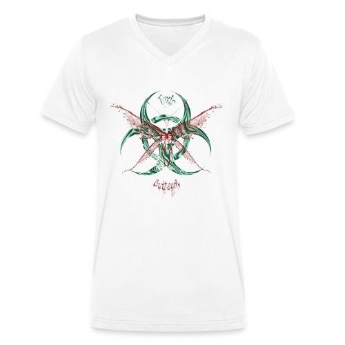 butterfly - T-shirt bio col V Stanley & Stella Homme