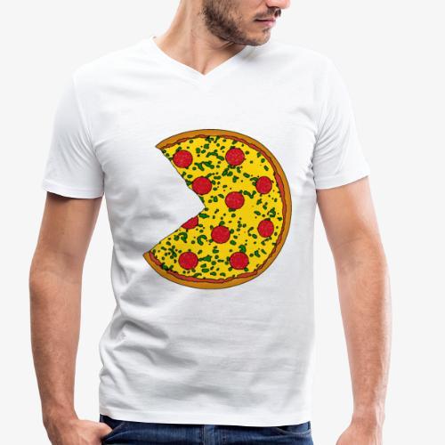You complete me - Pizza piece (Part 1) - Männer Bio-T-Shirt mit V-Ausschnitt von Stanley & Stella
