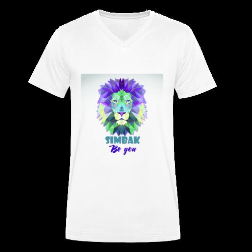 SIMBAK - T-shirt bio col V Stanley & Stella Homme