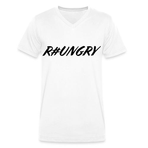 rungryv4 - Men's Organic V-Neck T-Shirt by Stanley & Stella