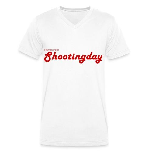 Shootingday classic - Männer Bio-T-Shirt mit V-Ausschnitt von Stanley & Stella