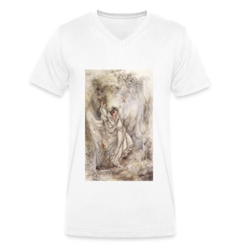 Angel B - Männer Bio-T-Shirt mit V-Ausschnitt von Stanley & Stella