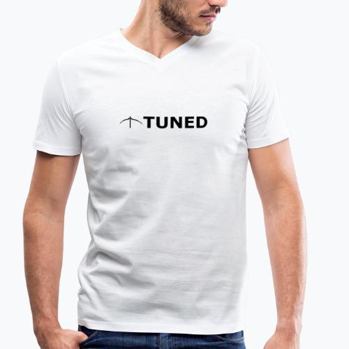TUNED - Redécouvrez la radio Monochrome - T-shirt bio col V Stanley & Stella Homme