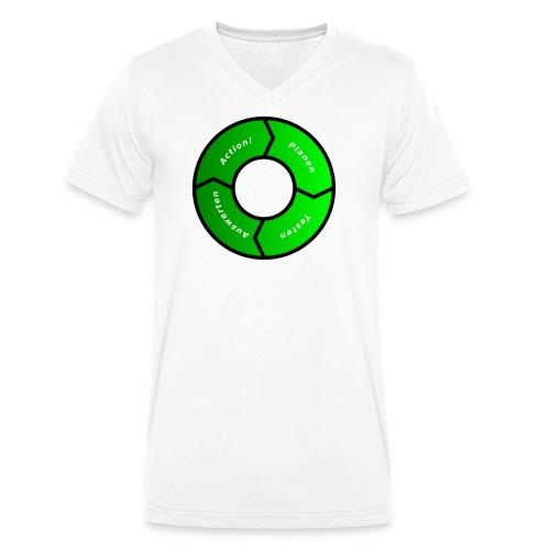 PDCA 1 - Männer Bio-T-Shirt mit V-Ausschnitt von Stanley & Stella