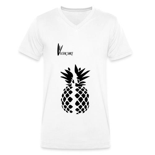 Broken Pineapple - Vector Shirt - T-shirt bio col V Stanley & Stella Homme