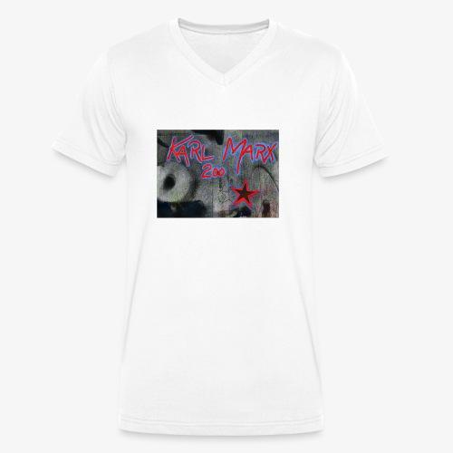 marx 200 - Männer Bio-T-Shirt mit V-Ausschnitt von Stanley & Stella