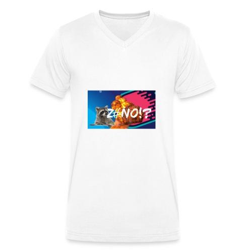 ZENO YT MERCH - Mannen bio T-shirt met V-hals van Stanley & Stella