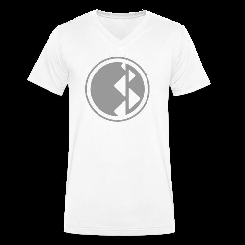 Echomar Wand - Männer Bio-T-Shirt mit V-Ausschnitt von Stanley & Stella