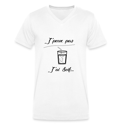 J'ai soif - T-shirt bio col V Stanley & Stella Homme