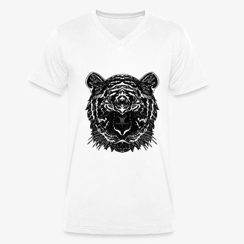 Teega - Männer Bio-T-Shirt mit V-Ausschnitt von Stanley & Stella