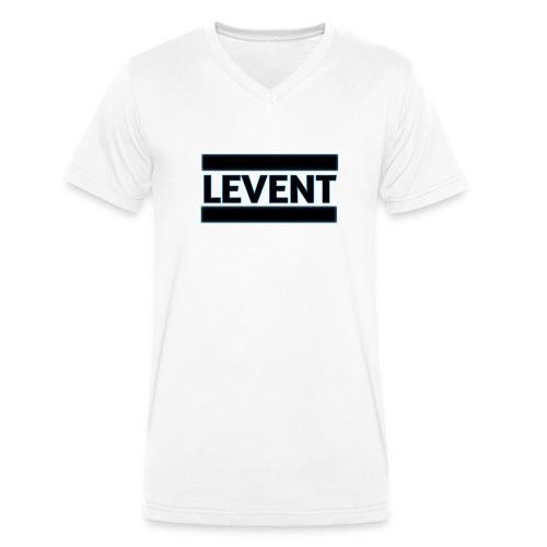 LEVENT - Männer Bio-T-Shirt mit V-Ausschnitt von Stanley & Stella