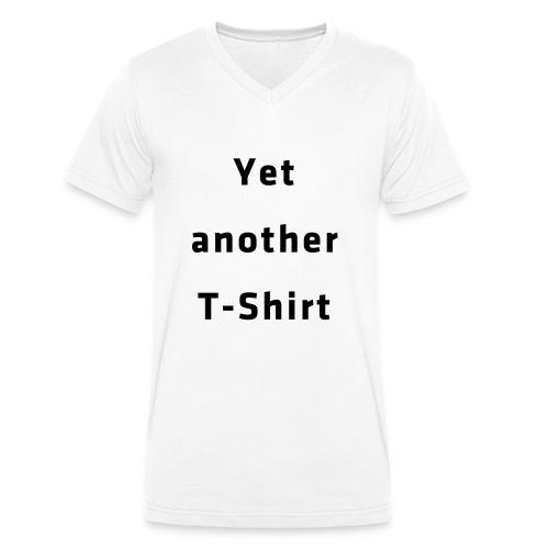 Yet another T-Shirt - Männer Bio-T-Shirt mit V-Ausschnitt von Stanley & Stella