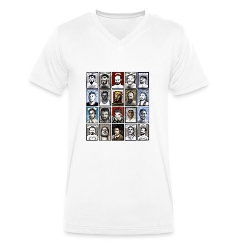 ACEO - T-shirt ecologica da uomo con scollo a V di Stanley & Stella