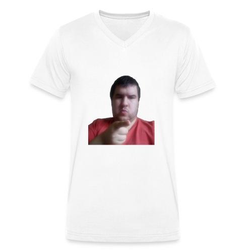 reecewNo - Men's Organic V-Neck T-Shirt by Stanley & Stella