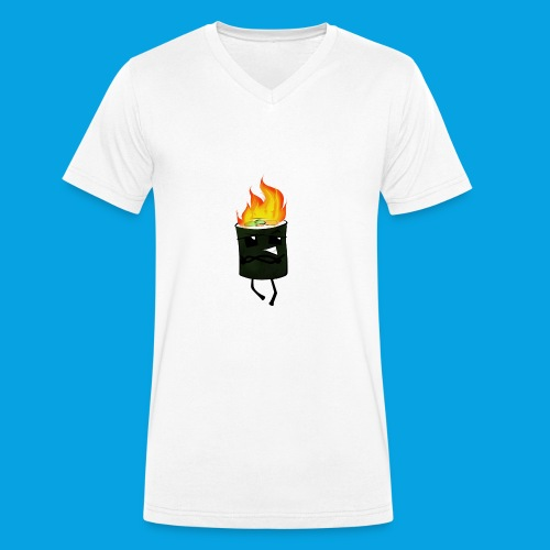 Die coole Sushirolle 2.0 - Männer Bio-T-Shirt mit V-Ausschnitt von Stanley & Stella