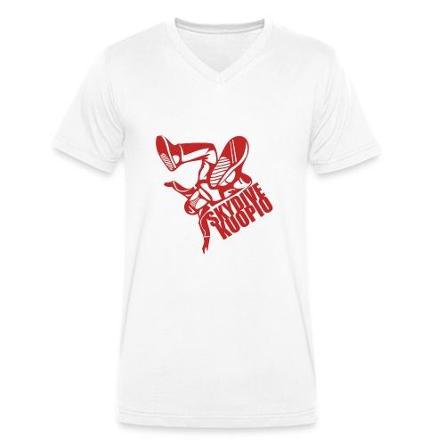 KLU logo red - Stanley & Stellan naisten luomupikeepaita