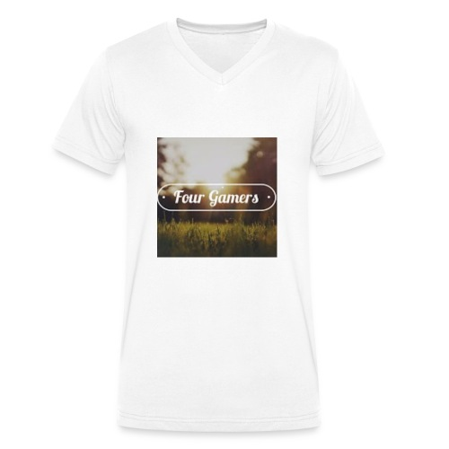 Four Gamers Mok - Mannen bio T-shirt met V-hals van Stanley & Stella