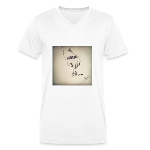 DerHardstyle.ch Hard_Core Techno - Männer Bio-T-Shirt mit V-Ausschnitt von Stanley & Stella