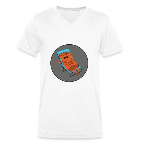 Festivalpodden - Loggan - Ekologisk T-shirt med V-ringning herr från Stanley & Stella