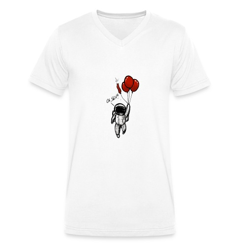 Oh Shit! - Männer Bio-T-Shirt mit V-Ausschnitt von Stanley & Stella