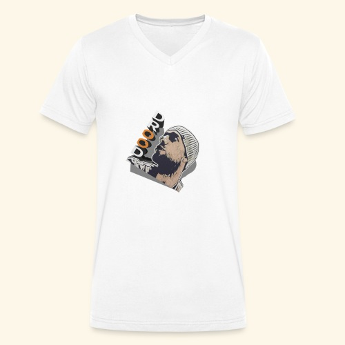 DroodlocksTV Face 3D - Männer Bio-T-Shirt mit V-Ausschnitt von Stanley & Stella