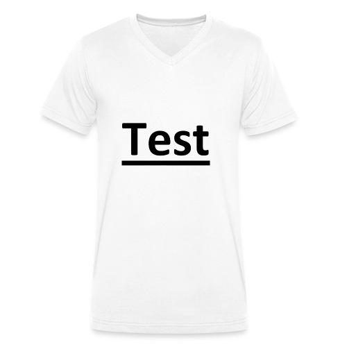 Test - Männer Bio-T-Shirt mit V-Ausschnitt von Stanley & Stella