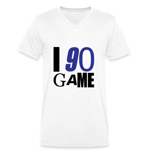 I 90 GAME - T-shirt bio col V Stanley & Stella Homme