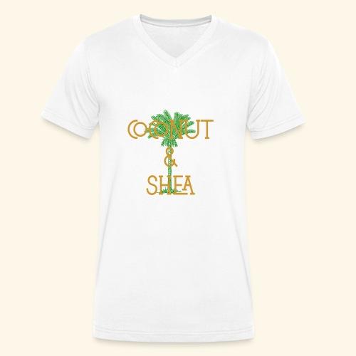 Coconut & Shea - Men's Organic V-Neck T-Shirt by Stanley & Stella