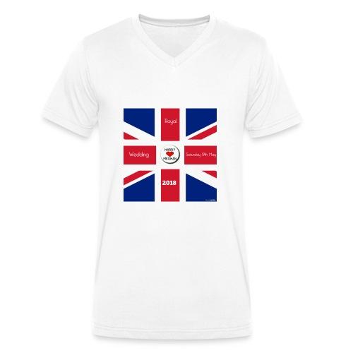 Royal Wedding 2018 - Men's Organic V-Neck T-Shirt by Stanley & Stella