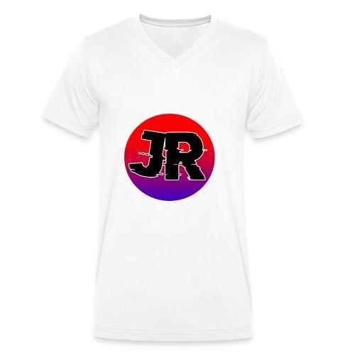 Jamory Ruis Logo - Mannen bio T-shirt met V-hals van Stanley & Stella
