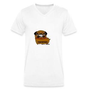 pugformers - Men's Organic V-Neck T-Shirt by Stanley & Stella