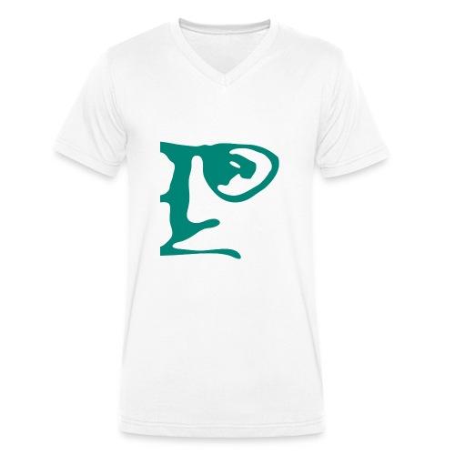 BB-Logo - Männer Bio-T-Shirt mit V-Ausschnitt von Stanley & Stella