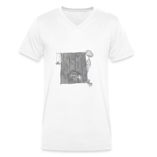 greyhouse - Männer Bio-T-Shirt mit V-Ausschnitt von Stanley & Stella