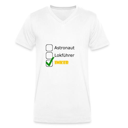 Astronaut, Lokführer, Imker - Männer Bio-T-Shirt mit V-Ausschnitt von Stanley & Stella