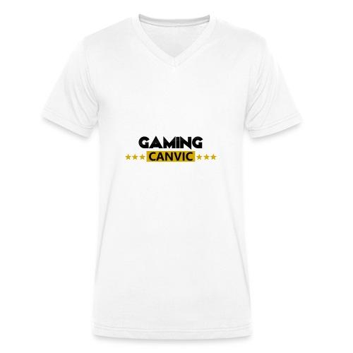 Gaming Canvic Stars - Männer Bio-T-Shirt mit V-Ausschnitt von Stanley & Stella