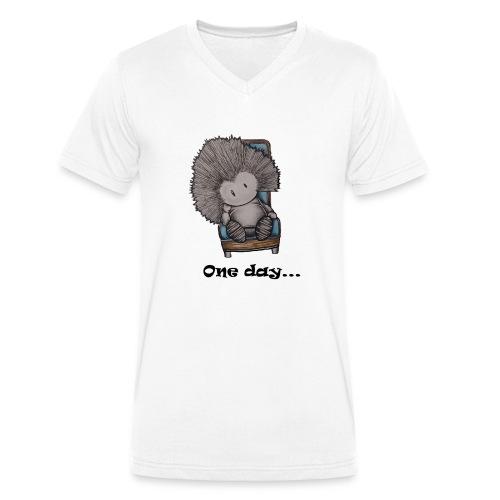 Marcelleke - Le penseur - Männer Bio-T-Shirt mit V-Ausschnitt von Stanley & Stella